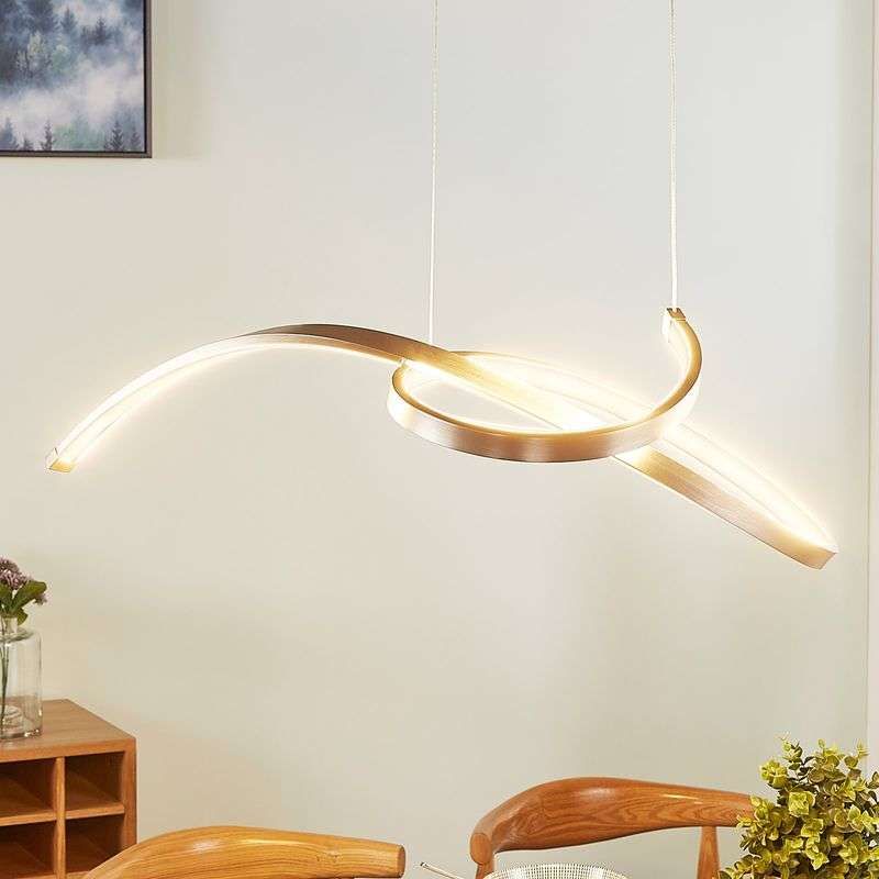 Filigrane LED hanglamp Dominykas