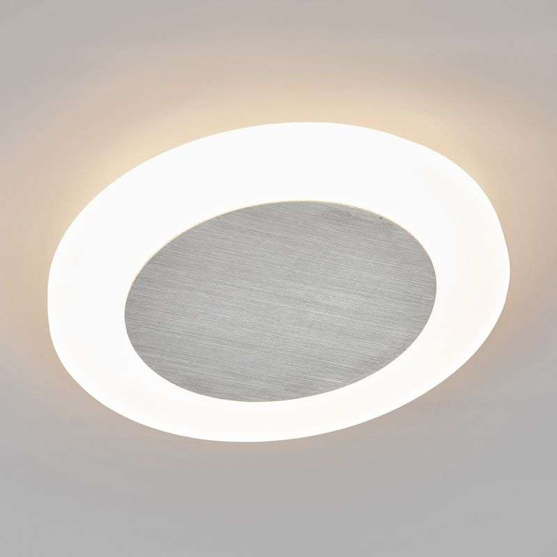 Ronde LED wandlamp Connor