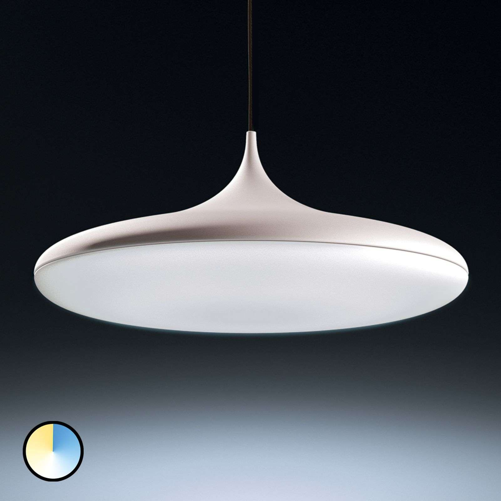 Cher - Philips Hue LED hanglamp, wit
