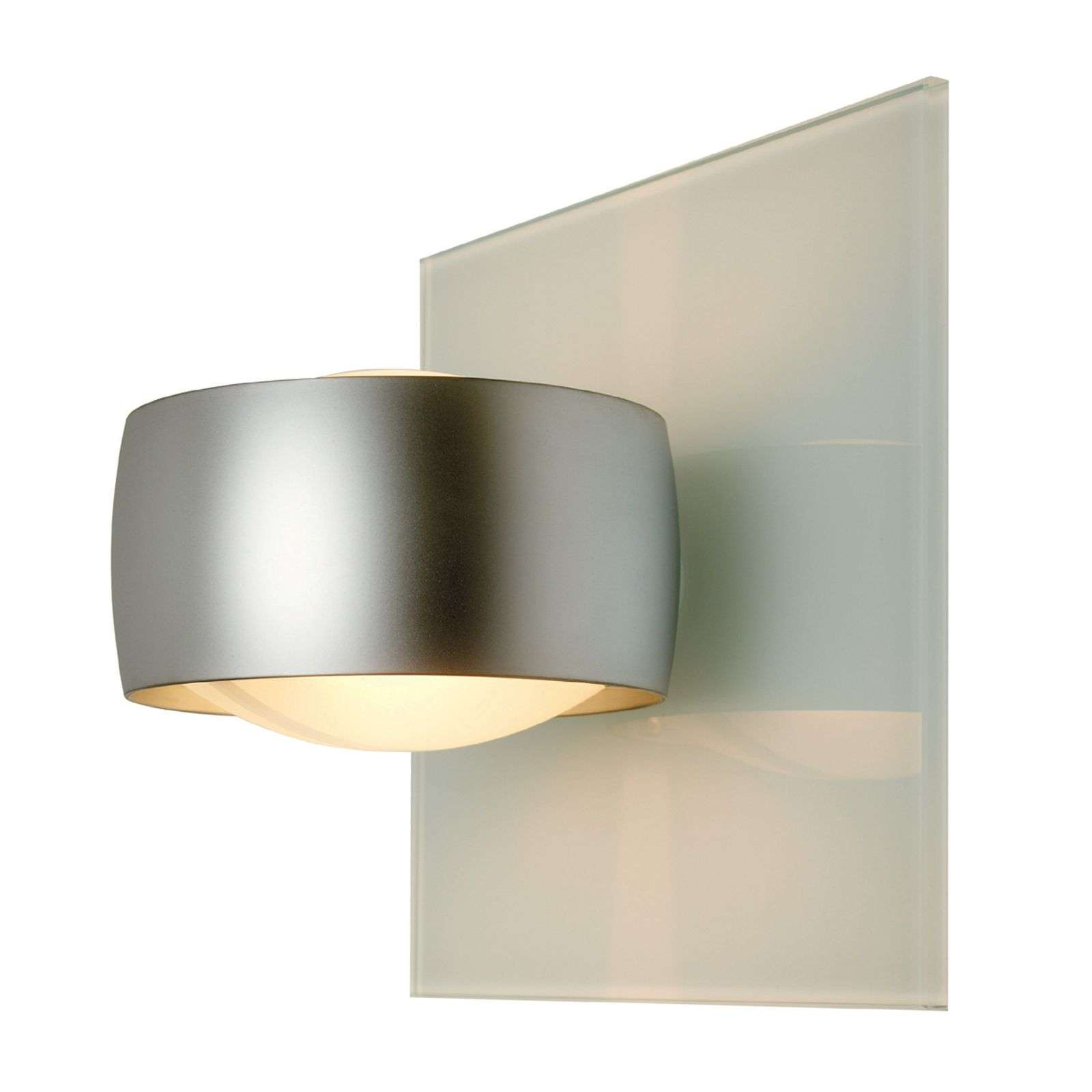 Decoratieve wandlamp GRACE UNLIMITED, wit zilver m