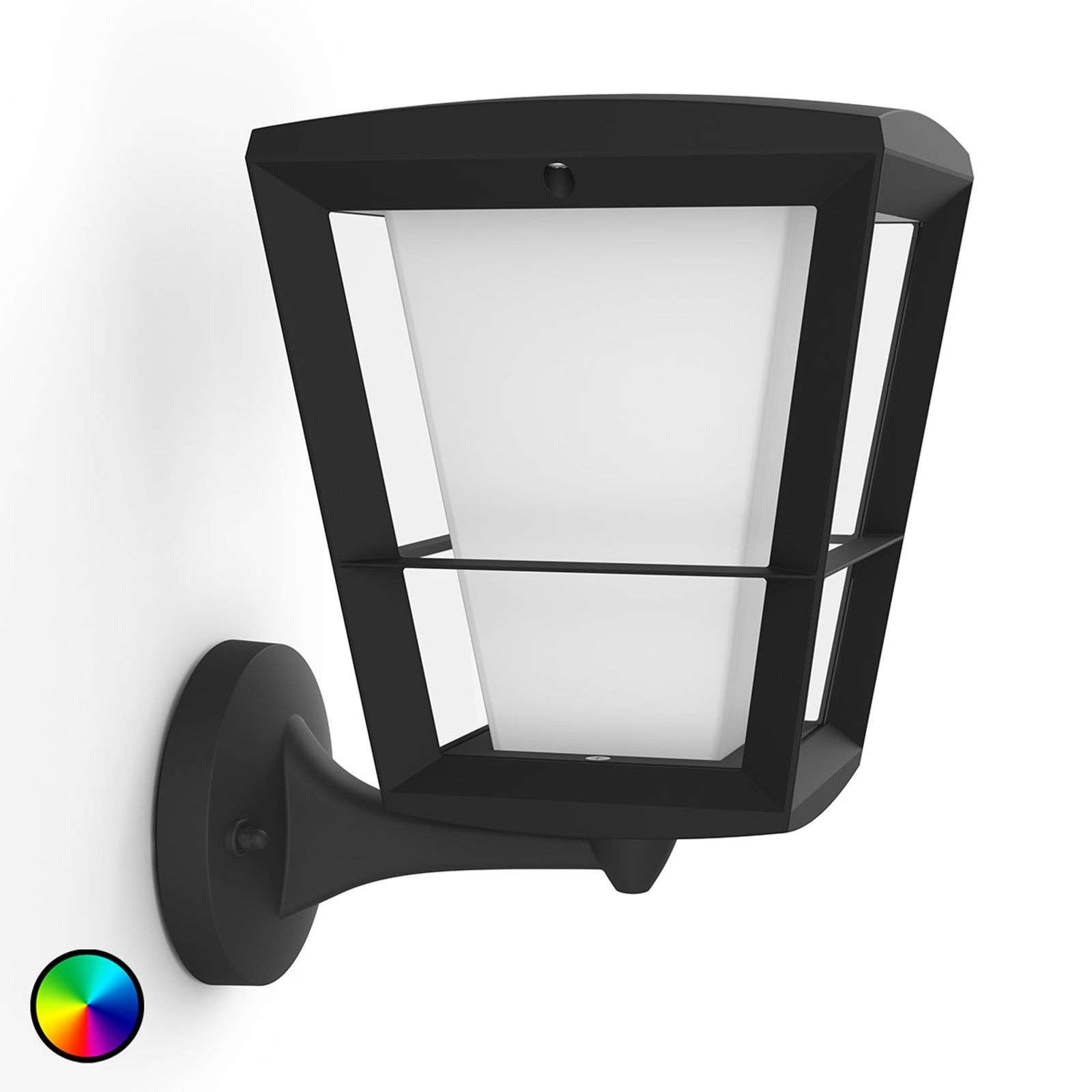 Philips Hue White+Color Econic wandlamp boven