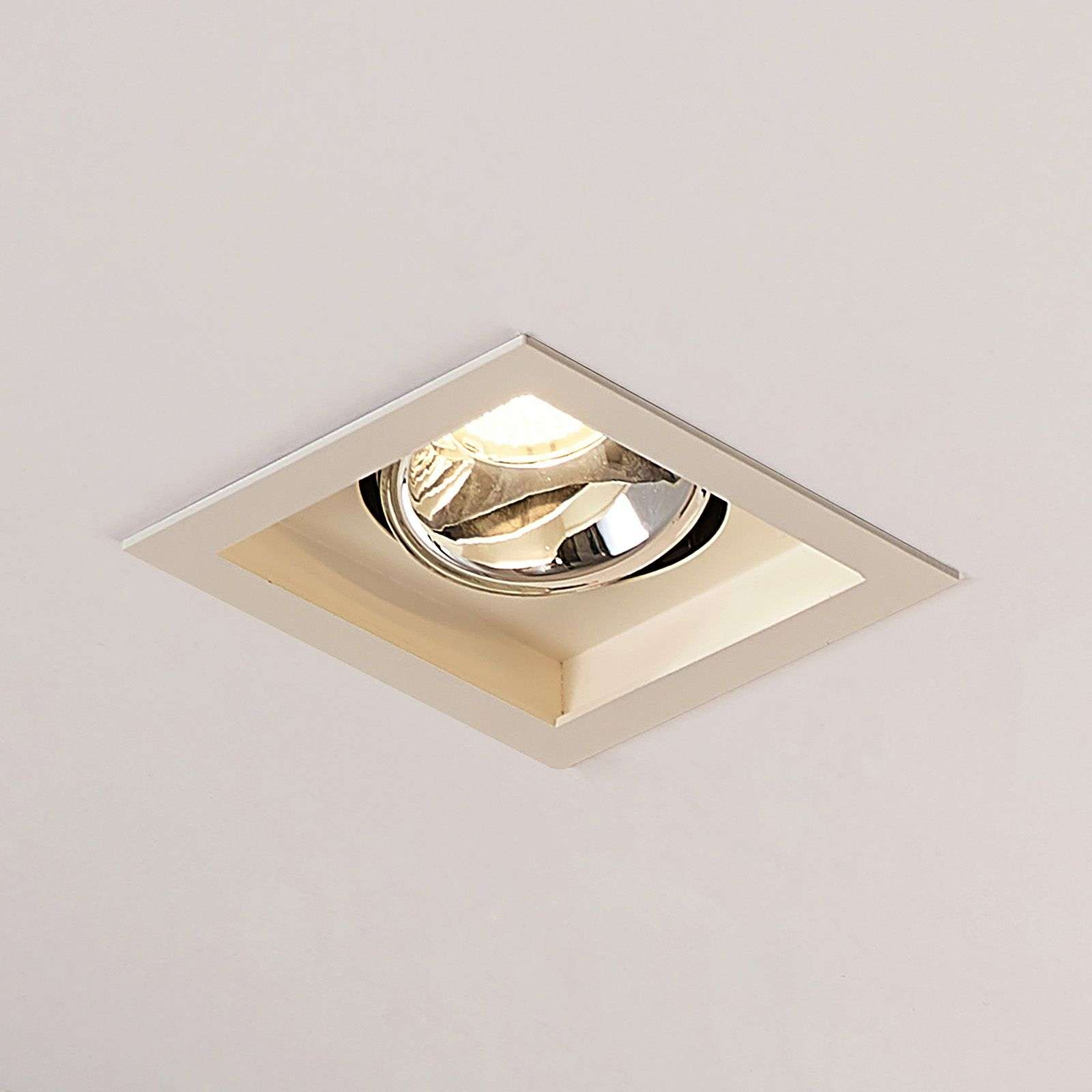 Arcchio Frode LED downlight hoekig, 3.000K 12,6W