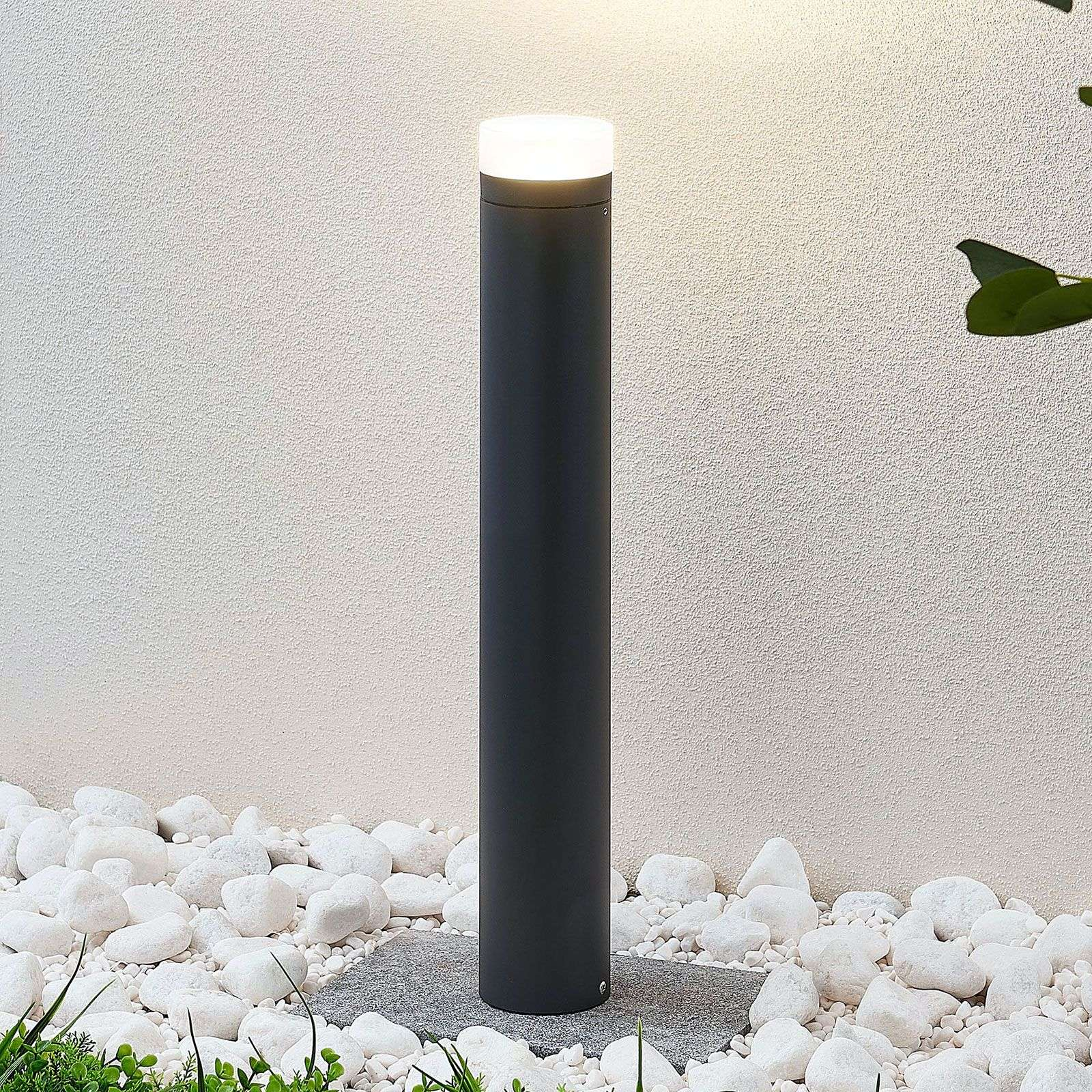 LED tuinpadverlichting Juka, cilindrisch