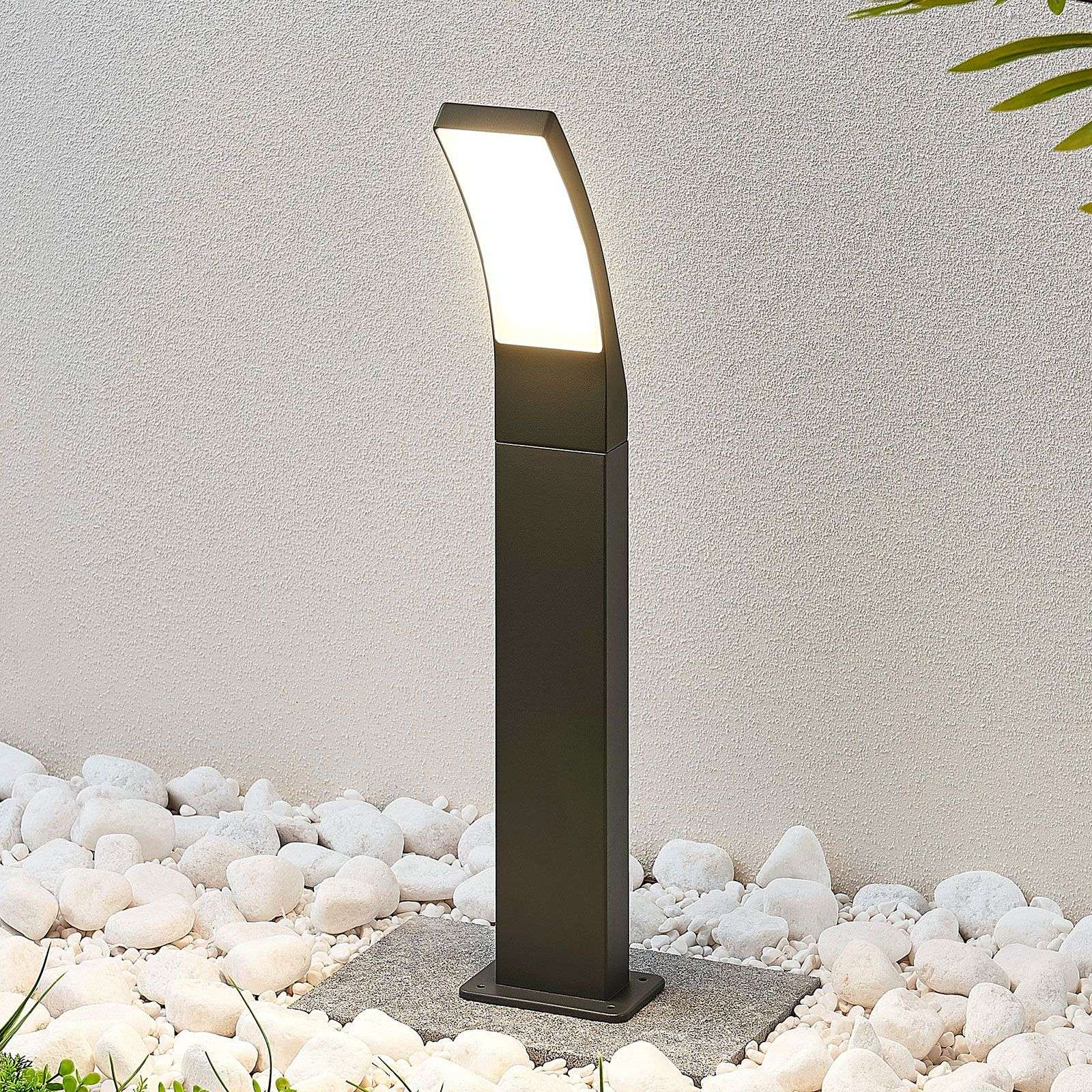 LED tuinpadverlichting Ilvita, antraciet