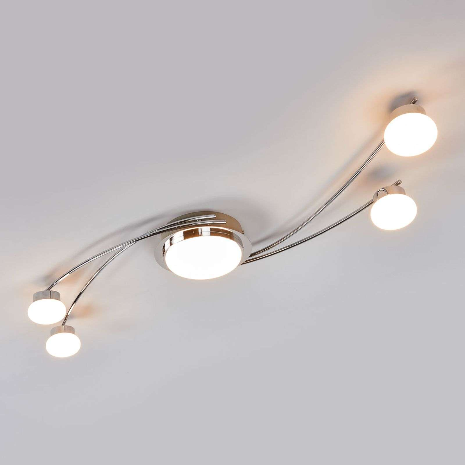 Vitus - Led plafondlamp in chroom