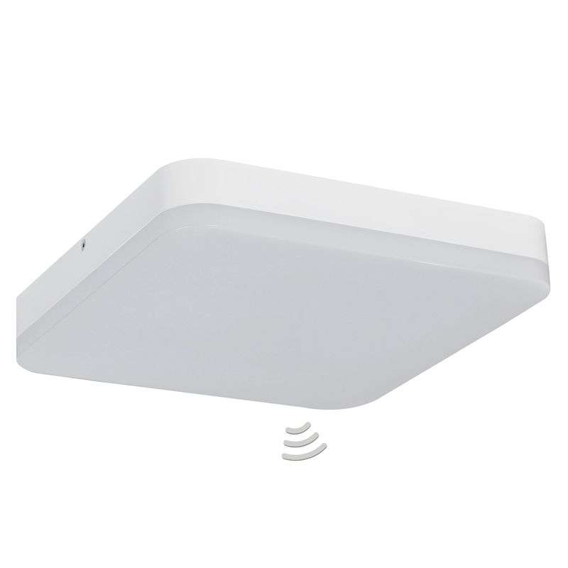LED plafondlamp Office Square - met sensor
