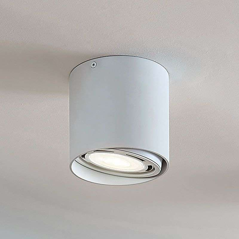 LED downlight Rosalie, 1-lamp, rond, wit