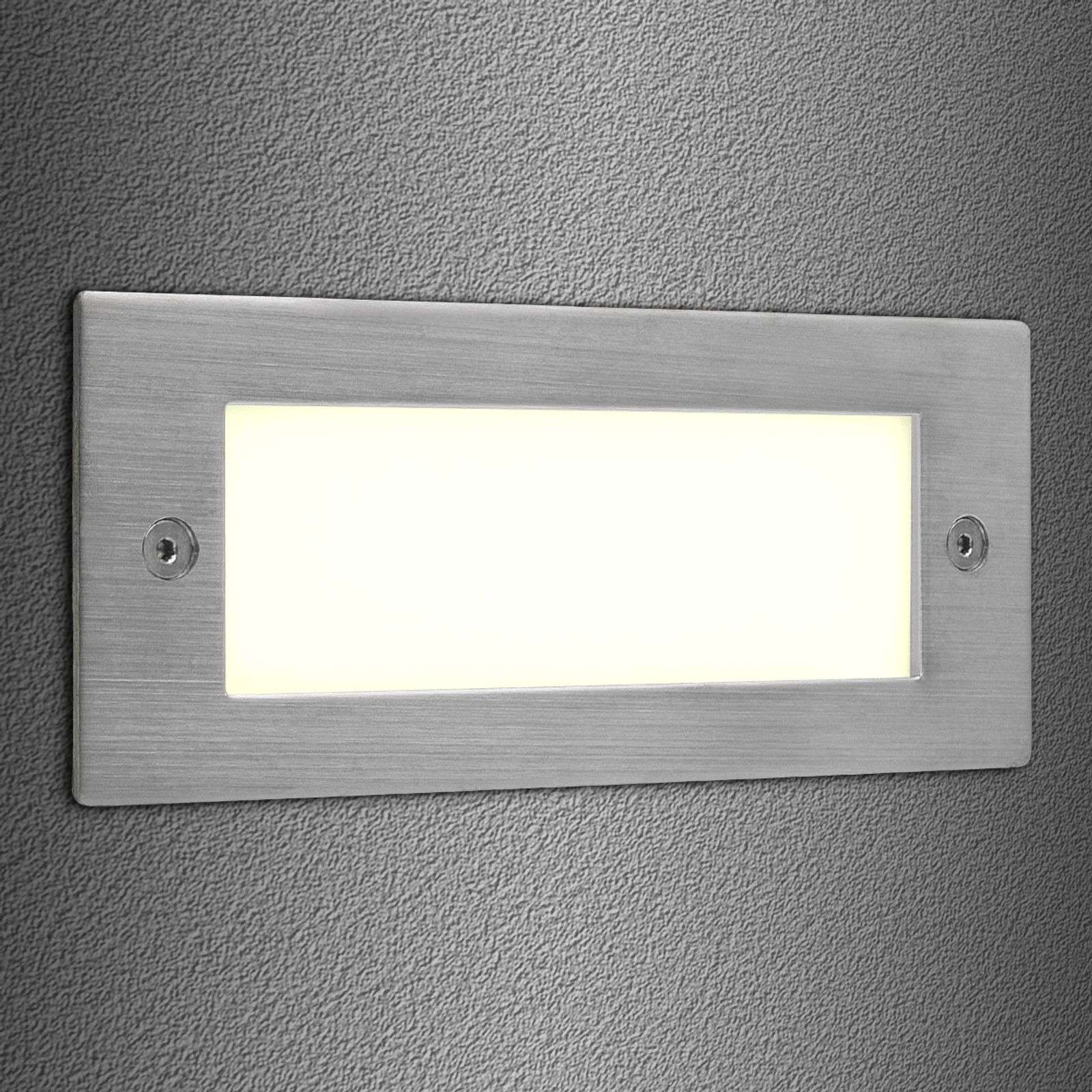 Wandinbouwspot Brick LED 16 warmwit
