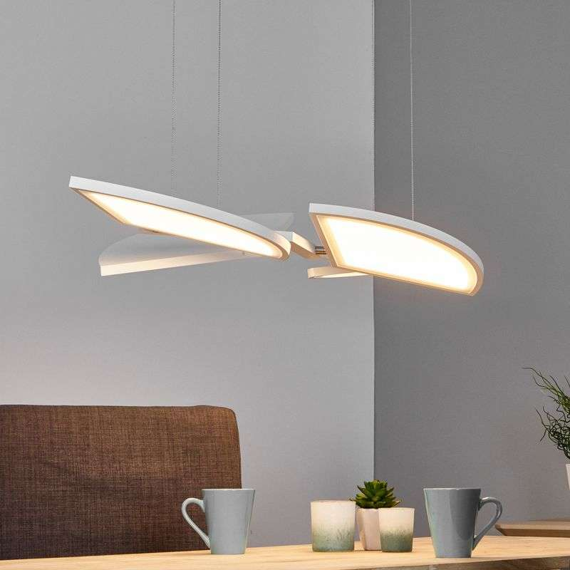 Aurela - functionele LED-pendellamp in wit