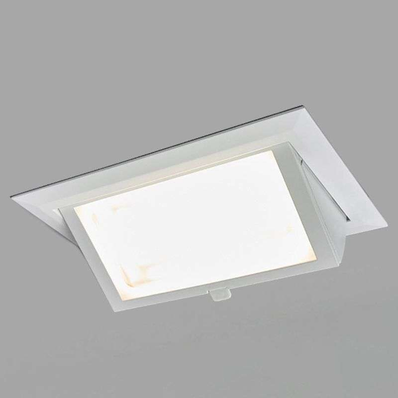 Hoekige LED downlight Adnan