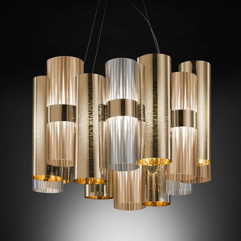 Slamp La Lollo Medium hanglamp goud/rook