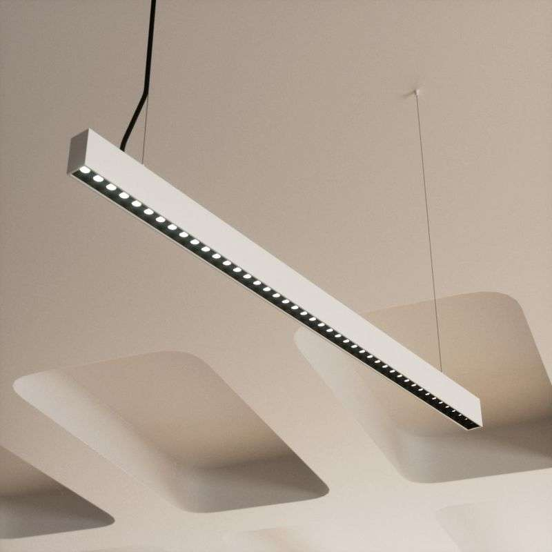 Dimbare office LED hanglamp Ernestine
