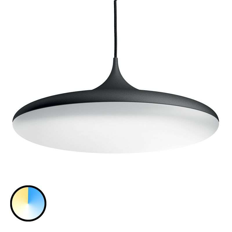 Cher - Philips Hue LED hanglamp, zwart